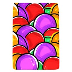 Colored Easter Eggs Removable Flap Cover (Small)