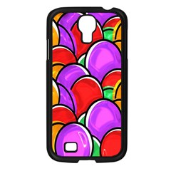 Colored Easter Eggs Samsung Galaxy S4 I9500/ I9505 Case (Black)
