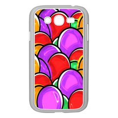 Colored Easter Eggs Samsung Galaxy Grand DUOS I9082 Case (White)