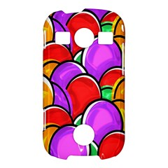 Colored Easter Eggs Samsung Galaxy S7710 Xcover 2 Hardshell Case