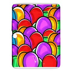 Colored Easter Eggs Samsung Galaxy Tab 3 (10.1 ) P5200 Hardshell Case