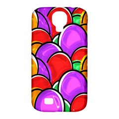 Colored Easter Eggs Samsung Galaxy S4 Classic Hardshell Case (PC+Silicone)