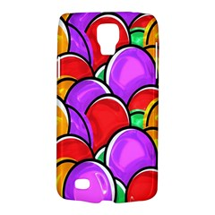 Colored Easter Eggs Samsung Galaxy S4 Active (i9295) Hardshell Case