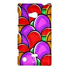 Colored Easter Eggs Nokia Lumia 720 Hardshell Case