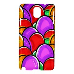 Colored Easter Eggs Samsung Galaxy Note 3 N9005 Hardshell Case