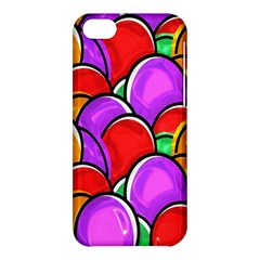 Colored Easter Eggs Apple Iphone 5c Hardshell Case