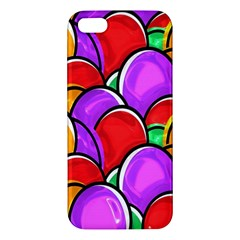 Colored Easter Eggs iPhone 5S Premium Hardshell Case