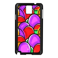 Colored Easter Eggs Samsung Galaxy Note 3 N9005 Case (Black)