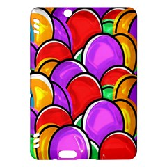 Colored Easter Eggs Kindle Fire HDX 7  Hardshell Case