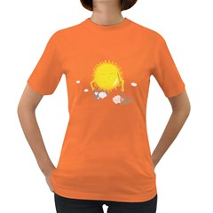 Spring Cleaning Women s T-shirt (Colored)