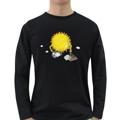 Spring Cleaning Men s Long Sleeve T-shirt (Dark Colored)