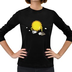 Spring Cleaning Women s Long Sleeve T-shirt (Dark Colored)