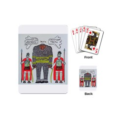 Big Foot 2 Romans Playing Cards (Mini)