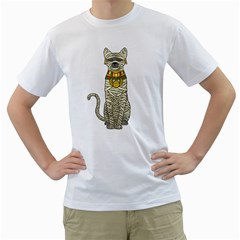 Ancient Cat Return Men s T-Shirt (White)