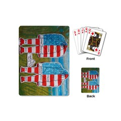 2 Painted Flag Big Foots Everglade Playing Cards (Mini)