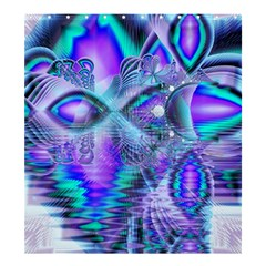 Peacock Crystal Palace of Dreams, Abstract Shower Curtain 66  x 72  (Large)