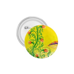 Whimsical Tulips 1 75  Button