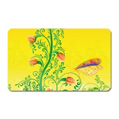 Whimsical Tulips Magnet (rectangular)