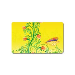 Whimsical Tulips Magnet (Name Card)