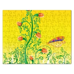 Whimsical Tulips Jigsaw Puzzle (Rectangle)