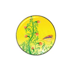 Whimsical Tulips Golf Ball Marker 10 Pack (for Hat Clip)