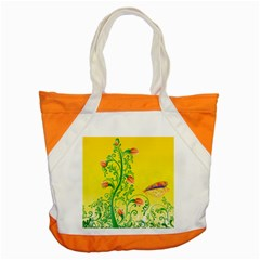Whimsical Tulips Accent Tote Bag