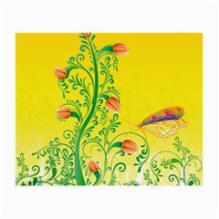 Whimsical Tulips Glasses Cloth (Small, Two Sided)