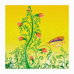 Whimsical Tulips Glasses Cloth (Medium)