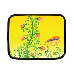 Whimsical Tulips Netbook Sleeve (small)
