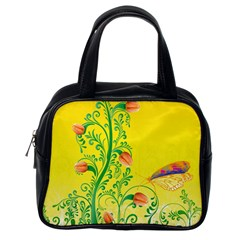 Whimsical Tulips Classic Handbag (One Side)