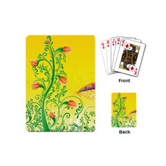 Whimsical Tulips Playing Cards (Mini)