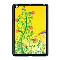 Whimsical Tulips Apple Ipad Mini Case (black)