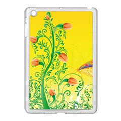 Whimsical Tulips Apple iPad Mini Case (White)
