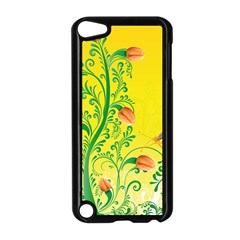 Whimsical Tulips Apple iPod Touch 5 Case (Black)