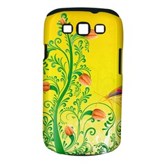 Whimsical Tulips Samsung Galaxy S Iii Classic Hardshell Case (pc+silicone)