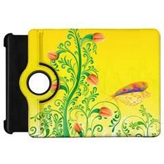 Whimsical Tulips Kindle Fire HD 7  (1st Gen) Flip 360 Case