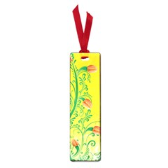 Whimsical Tulips Small Bookmark