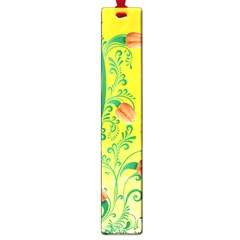 Whimsical Tulips Large Bookmark