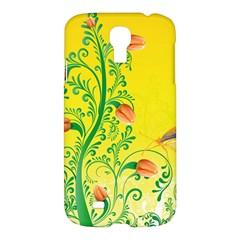 Whimsical Tulips Samsung Galaxy S4 I9500/I9505 Hardshell Case