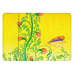 Whimsical Tulips Samsung Galaxy Tab 8 9  P7300 Flip Case