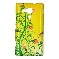Whimsical Tulips Sony Xperia SP M35H Hardshell Case