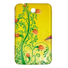 Whimsical Tulips Samsung Galaxy Tab 3 (7 ) P3200 Hardshell Case