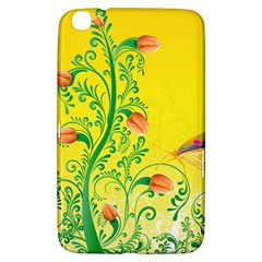 Whimsical Tulips Samsung Galaxy Tab 3 (8 ) T3100 Hardshell Case