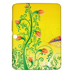 Whimsical Tulips Samsung Galaxy Tab 3 (10.1 ) P5200 Hardshell Case