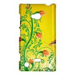 Whimsical Tulips Nokia Lumia 720 Hardshell Case