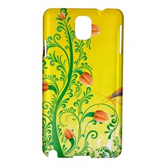 Whimsical Tulips Samsung Galaxy Note 3 N9005 Hardshell Case