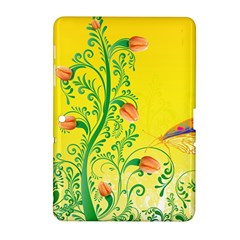 Whimsical Tulips Samsung Galaxy Tab 2 (10.1 ) P5100 Hardshell Case
