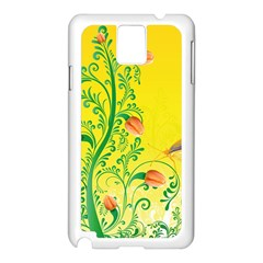 Whimsical Tulips Samsung Galaxy Note 3 N9005 Case (White)