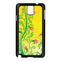 Whimsical Tulips Samsung Galaxy Note 3 N9005 Case (Black)