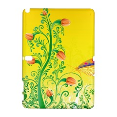 Whimsical Tulips Samsung Galaxy Note 10.1 (P600) Hardshell Case